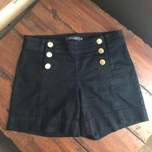 Anthro Level 99 Jean Shorts Nautical